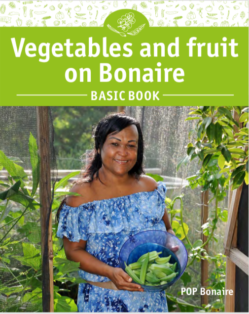 Basic book vegetables and fruit on Bonaire